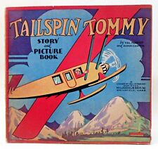 1931 Hal Forrest TAILSPIN TOMMY STORY & PICTURE BOOK McLoughlin COLOR comic BOOK