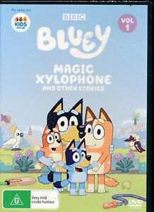 Bluey Magic Xylophone And Other Stories DVD NEW Region 4
