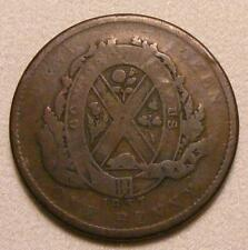 1837 Province Of Lower Canada City Bank 1 Penny / 2 Sou Token!!  BR-521!!