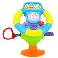 Baby Toys Electronic Steering Wheel Musical Early Learning Driving Simulation