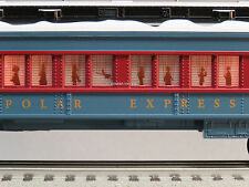 LIONEL POLAR EXPRESS PUPPET COACH O GAUGE TRAIN CAR snow 6-84328-P NEW DESIGN