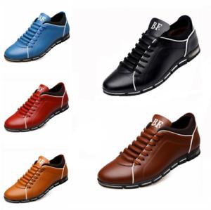 US6-13 Size Men Casual Shoes Fashion Leather Shoes for Men Summer Flat Shoes Lot