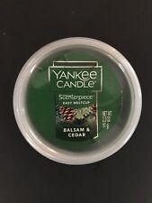 Yankee Candle Scenterpiece Easy Melt Cup Balsam & Cedar, Brand New 2.2 Oz.