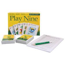 Play Nine Play Nine: Card Game Of Golf