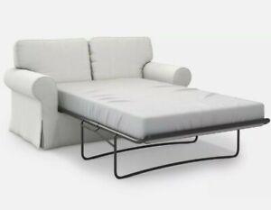 IKEA EKTORP COVER for Ektorp 2-seat Sofabed Blekinge White Slipcover 300.473.60