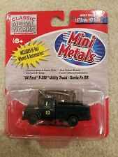 HO SCALE CLASSIC METAL WORKS MINI METALS ITEM#30214 '54 FORD F-350 UTILITY TRUCK