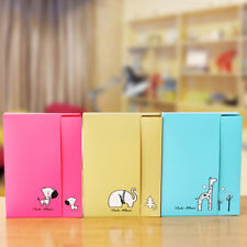 DR7 Cartoon Animal 20Pages Mini Album Photo Case Picture Organizer Container Lat