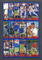 2003 Topps ATLANTA BRAVES Team Set (27) Cards
