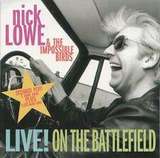 Nick Lowe Live! on the battlefield | VERY RARE CD USA 1994 | 5 TRACKS EP