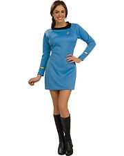 Morris Costumes Women's Tv & Movie Characters Star Trek Dress Blue XS.RU889060XS