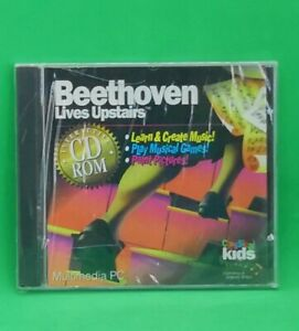 Beethoven Lives Upstairs [CD Rom] Multimedia PC