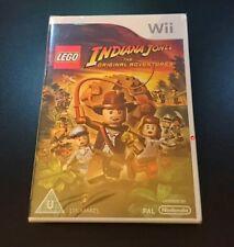 LEGO INDIANA JONES avventure originali-Nintendo Wii-NUOVO e SIGILLATO GRATIS UK P & P
