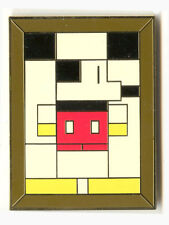Disney Auctions - Masterpiece Series #1 - Mondrian Mouse pin HTF VERY RARE