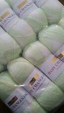 Hayfield Baby Changes DK 10 x 100g balls Shade Lemon Spray 0563 new unopened pac