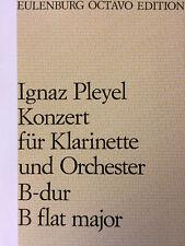 Ignaz Pleyel - Konzert B-dur - für Klarinette und Orchester
