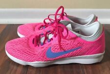WOMENS NIKE ZOOM FIT TRAINING SHOES/ SIZE 6 / PINK / Excellent Used Condition