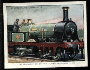 Tobacco Card, Churchman, LANDMARKS IN RAILWAY PROGRESS, 1932,1st Series,Large,#7