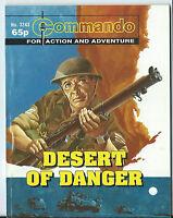 DESERT OF DANGER,COMMANDO FOR ACTION AND ADVENTURE,WAR COMIC,NO.3243,1999