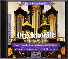 BACH: Orgelchoräle BWV 1090-1120 FRANZ HASELBÖCK Organ Orgel Neumeister CD 1990