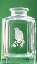 Eagle Hawk Crystal Decanter Glass Bird Of Prey Hunting Gift Boxed FREE POSTAGE