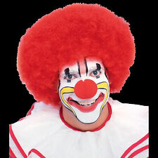 Deluxe Clown Wig theatrical circus parade stage sport game big funny round curly