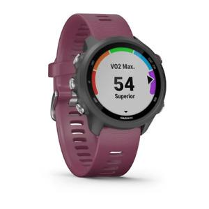 Garmin Forerunner 245 HRM GPS Sports Running Smart Watch Berry 010-02120-11