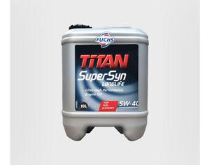 4153010 Fuchs Oil TITAN Supersyn LongLife SAE 5W-40 10L for BMW Renault Mercedes