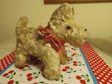 Vintage Antique Stuffed Animal Dog Puppy Squeak Toy