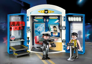 Playmobil #70306 Police Station Play Box- New Factory Sealed!