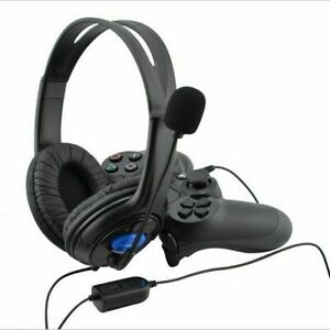 3.5mm Gaming Headset Headphones With MIC For PC Mac Switch Laptop PS4 Xbox One