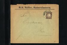 [B09_092] 1903 - Bayern Cover - From/to Kaiserslautern