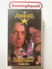 WWF WCW Starrcade NEW VHS Video Retro, Supplied by Gaming Squad Ltd