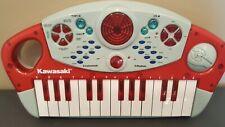 Kawasaki Electronic Toy Keyboard Kids Miniature 8 Instrument Rhythms Works Great