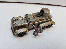 SFA France Auto Blindé Militaire année 40 jouet ancien tôle Style JRD CIJ