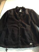 Women's Aeropostale Fleece full zip up Jacket long sleeve 100% polyester size XL