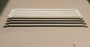 Window Security Bars, DIY, House, Garage Straight Black or White powder coated