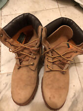 Women's LIGHTLY used Wheat Color Timberland Boots- Size 8M