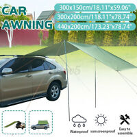 Car Tent Awning Rooftop Truck Camping Travel Shelter Outdoor Sunshade Canopy