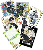 Seraph of the End Poker Playing Cards Anime Manga NEW