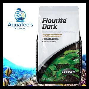 Seachem Flourite DARK 7kg Planted Aquarium Fish Tank Substrate Shrimp Nano