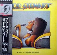 Rod Stewart A Shot Of Rhythm And Blues EMI EMS-80757 LP Japan OBI INSERT