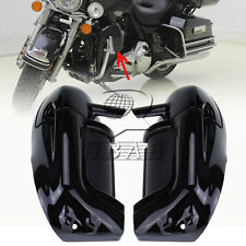 Lower Vented Leg Fairings Glove Box For Harley Road King Touring Electra Glide