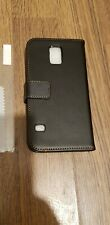 Samsung S5 PU Leather Wallet Phone Case Cover