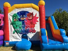 Combo Jumping Castle Hire- PJ Masks, Unicorn, Wiggles, Paw Patrol, Mermaid +More