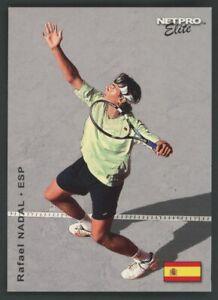 """2003 Netpro Elite Tennis #19 Rafael Nadal RC Rookie /2000 """" PACK FRESH """""""