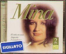 """MINA """" LATINOS DE ORO """" 2 CD SIGILLATO DISQUERIA MADRID 2002"""