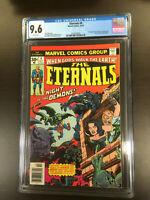 ETERNALS #4 (1976 Series) CGC 9.6 NEAR MINT+ 2nd Appearance of Sersi!