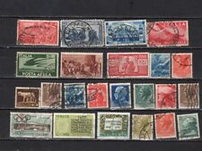 Italy-  Lot Of Early Used  Stamps (IT35)