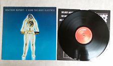 "DISQUE VINYLE 33T LP/ WEATHER REPORT ""I SING BODY ELECTRIC"" 1972 CBS - CBS 32062"