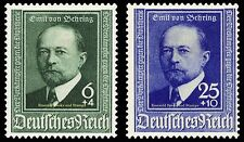 EBS Germany 1940 Emil von Behring - Nobel Prize - Michel 760-761 MH*